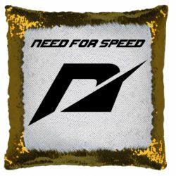 Подушка-хамелеон Need For Speed Logo