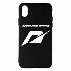 Чехол для iPhone X/Xs Need For Speed Logo