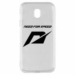 Чехол для Samsung J3 2017 Need For Speed Logo