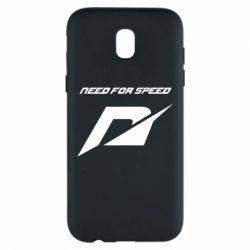 Чехол для Samsung J5 2017 Need For Speed Logo
