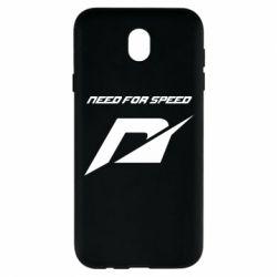 Чехол для Samsung J7 2017 Need For Speed Logo