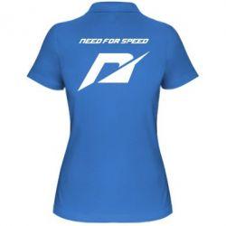 Женская футболка поло Need For Speed Logo