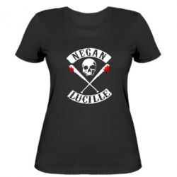 Женская футболка Negan Lucille