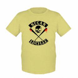 Детская футболка Negan Lucille