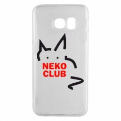 Чохол для Samsung S6 EDGE Neko Club