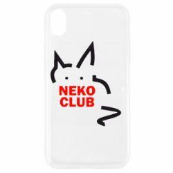 Чохол для iPhone XR Neko Club