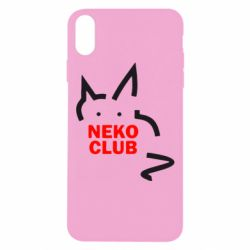 Чохол для iPhone Xs Max Neko Club