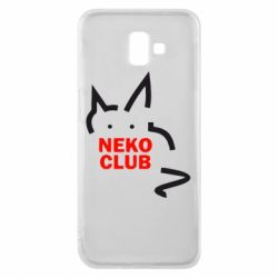 Чохол для Samsung J6 Plus 2018 Neko Club