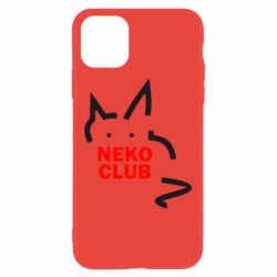 Чохол для iPhone 11 Neko Club
