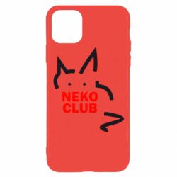 Чохол для iPhone 11 Pro Neko Club