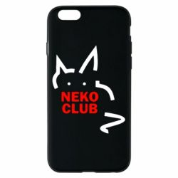 Чохол для iPhone 6/6S Neko Club