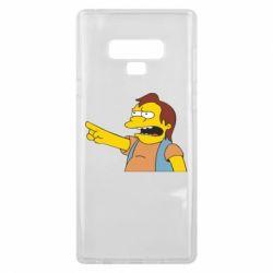 Чехол для Samsung Note 9 Нельсон Симпсон - FatLine