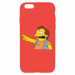 Чехол для iPhone 6/6S Нельсон Симпсон - FatLine