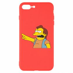 Чехол для iPhone 7 Plus Нельсон Симпсон - FatLine