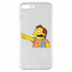 Чехол для iPhone 8 Plus Нельсон Симпсон - FatLine