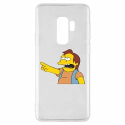 Чехол для Samsung S9+ Нельсон Симпсон - FatLine