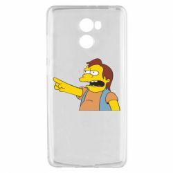 Чехол для Xiaomi Redmi 4 Нельсон Симпсон - FatLine