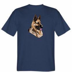 Мужская футболка Немецкая овчарка