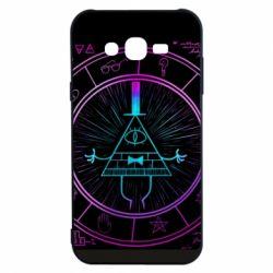 Чохол для Samsung J7 2015 Neon Bill Cipher - FatLine