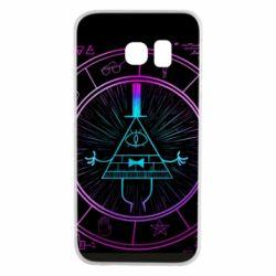 Чохол для Samsung S6 EDGE Neon Bill Cipher - FatLine