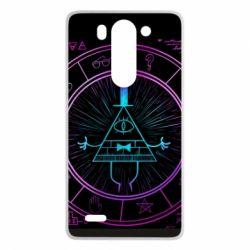Чохол для LG G3 Mini/G3s Neon Bill Cipher - FatLine
