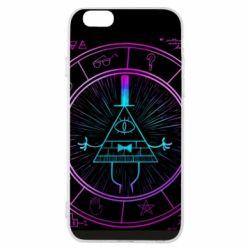 Чохол для iPhone 6/6S Neon Bill Cipher - FatLine