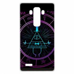 Чохол для LG G4 Neon Bill Cipher - FatLine