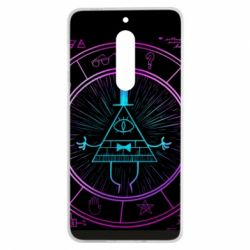 Чохол для Nokia 5 Neon Bill Cipher - FatLine