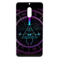 Чохол для Nokia 6 Neon Bill Cipher - FatLine