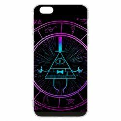 Чохол для iPhone 6 Plus/6S Plus Neon Bill Cipher - FatLine