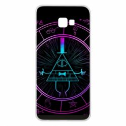 Чохол для Samsung J4 Plus 2018 Neon Bill Cipher - FatLine