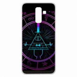 Чохол для Samsung J8 2018 Neon Bill Cipher - FatLine