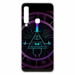 Чохол для Samsung A9 2018 Neon Bill Cipher - FatLine