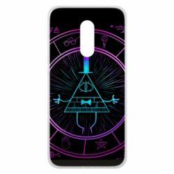 Чохол для Meizu 16 plus Neon Bill Cipher - FatLine