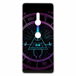 Чохол для Sony Xperia XZ3 Neon Bill Cipher - FatLine