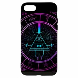 Чохол для iPhone 8 Neon Bill Cipher - FatLine