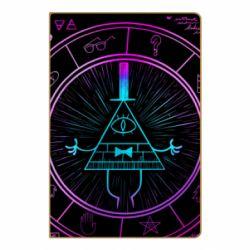 Блокнот А5 Neon Bill Cipher - FatLine