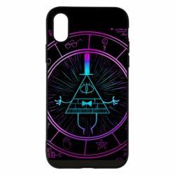 Чохол для iPhone X/Xs Neon Bill Cipher - FatLine