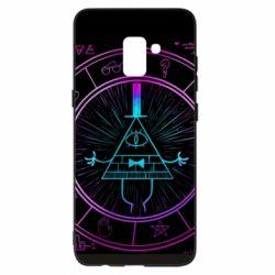 Чохол для Samsung A8+ 2018 Neon Bill Cipher - FatLine