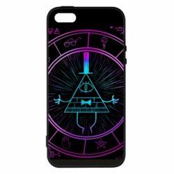 Чохол для iphone 5/5S/SE Neon Bill Cipher - FatLine