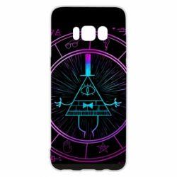 Чохол для Samsung S8 Neon Bill Cipher - FatLine
