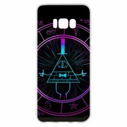 Чохол для Samsung S8+ Neon Bill Cipher - FatLine