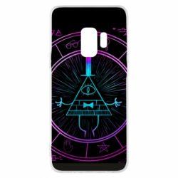 Чохол для Samsung S9 Neon Bill Cipher - FatLine