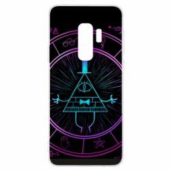 Чохол для Samsung S9+ Neon Bill Cipher - FatLine