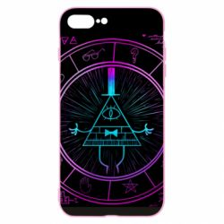 Чохол для iPhone 8 Plus Neon Bill Cipher - FatLine