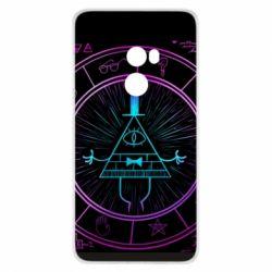 Чохол для Xiaomi Mi Mix 2 Neon Bill Cipher - FatLine