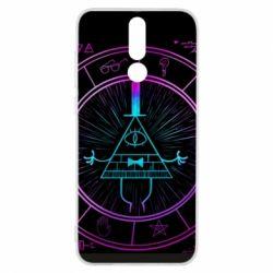 Чохол для Huawei Mate 10 Lite Neon Bill Cipher - FatLine