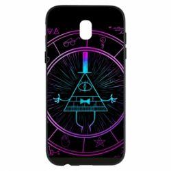 Чохол для Samsung J5 2017 Neon Bill Cipher - FatLine