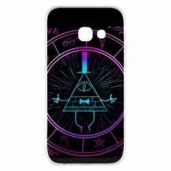 Чохол для Samsung A3 2017 Neon Bill Cipher - FatLine