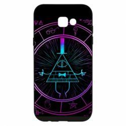 Чохол для Samsung A7 2017 Neon Bill Cipher - FatLine